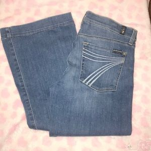 7 for all Mankind Dojo Flare Jeans Size 31